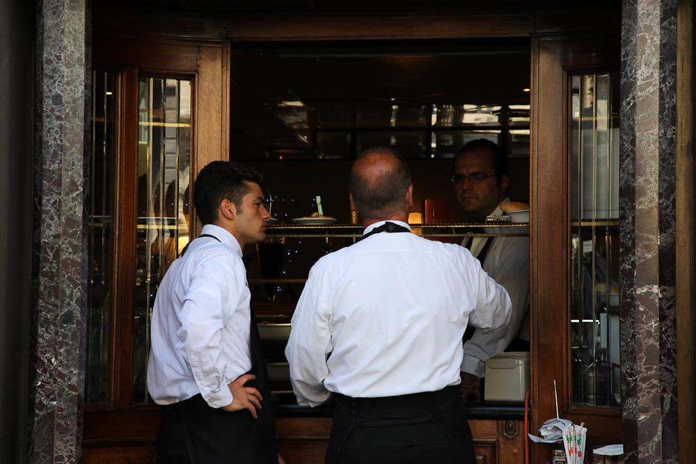 Gran Caffé La Caffetteria, Nicola Bramigk