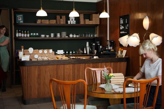 Schwedisches Café Edinburgh